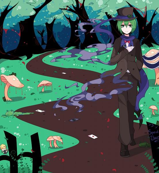 Tags: Anime, Uchagi, Katekyo Hitman REBORN!, Alice in Wonderland, Mad Hatter, Fran, Belphegor, Illusion, Frog Hat, deviantART