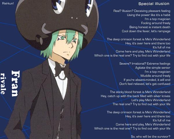 Tags: Anime, Katekyo Hitman REBORN!, Fran, Frog Hat, Edited