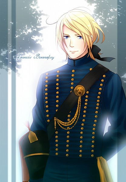 Tags: Anime, Moguimo, Axis Powers: Hetalia, France, Hussar, Soldier, Fanart, Mobile Wallpaper, Pixiv, Allied Forces