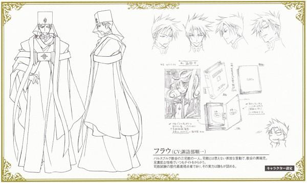 Tags: Anime, 07-ghost, Frau (07-ghost), Sketch