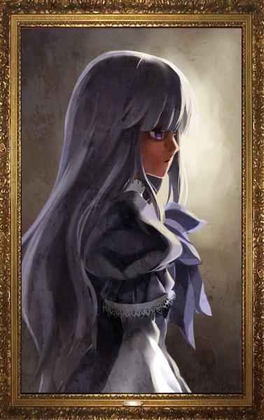 Tags: Anime, Otaku (Artist), 07th Expansion, Umineko no Naku Koro ni, Frederica Bernkastel, 666, Mobile Wallpaper