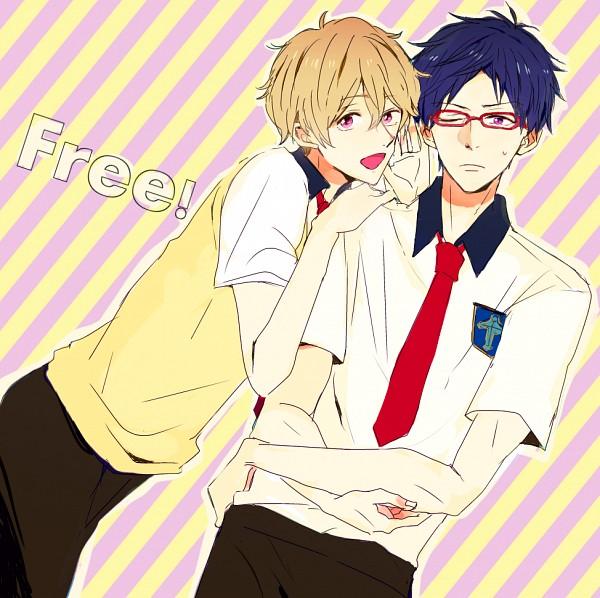 Tags: Anime, Pixiv Id 340123, Free!, Hazuki Nagisa, Ryuugazaki Rei, Pixiv, Fanart, Fanart From Pixiv, ReiGisa