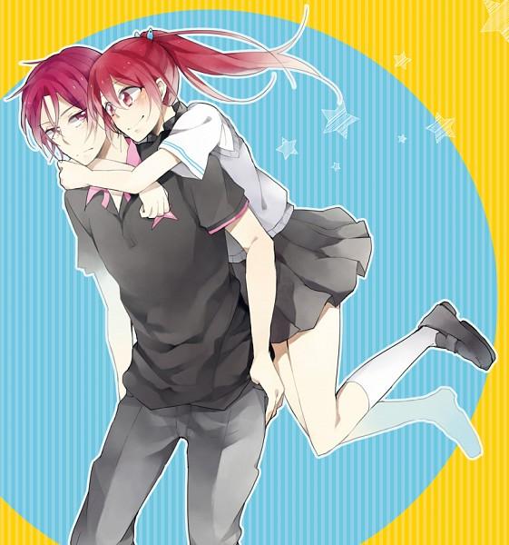 Tags: Anime, Free!, Matsuoka Gou, Matsuoka Rin, Fanart