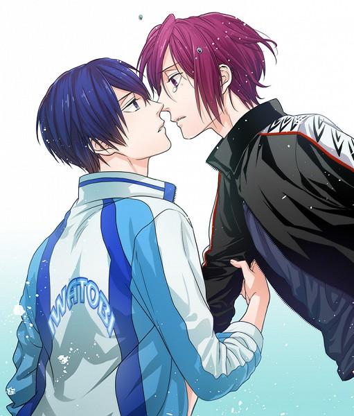 Tags: Anime, Akuta Michi, Free!, Nanase Haruka (Free!), Matsuoka Rin, Pull Forward, RinHaru
