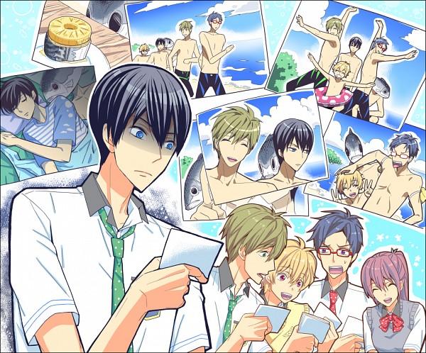 Tags: Anime, Pixiv Id 230092, Free!, Nanase Haruka (Free!), Tachibana Makoto, Matsuoka Gou, Hazuki Nagisa, Ryuugazaki Rei, Jammer, Weird, Pixiv