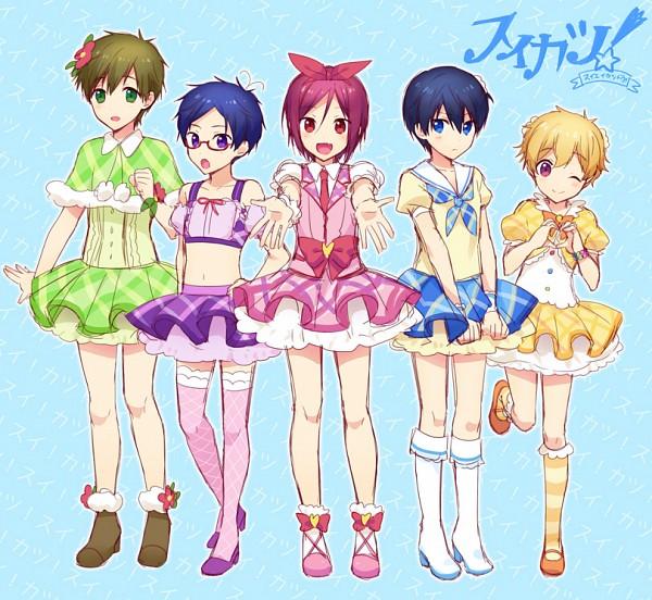Tags: Anime, Pixiv Id 8015826, Free!, Nanase Haruka (Free!), Ryuugazaki Rei, Tachibana Makoto, Matsuoka Rin, Hazuki Nagisa, Shibuki Ran (Cosplay), Kiriya Aoi (Cosplay), Arisugawa Otome (Cosplay), Kitaouji Sakura (Cosplay), Hoshimiya Ichigo (Cosplay)