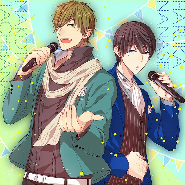 Tags: Anime, Gesshi (Pixiv2553245), Free!, Nanase Haruka (Free!), Tachibana Makoto, Pixiv, Fanart, Fanart From Pixiv