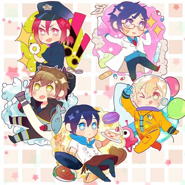 Tags: Anime, Yova, Free!, Ryuugazaki Rei, Hazuki Nagisa, Nanase Haruka (Free!), Tachibana Makoto, Matsuoka Rin, Police Hat, Chef Uniform, Doctor, Firefighter Outfit, deviantART