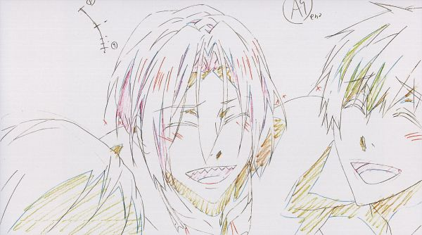 Tags: Anime, Free!, Tachibana Makoto, Matsuoka Rin