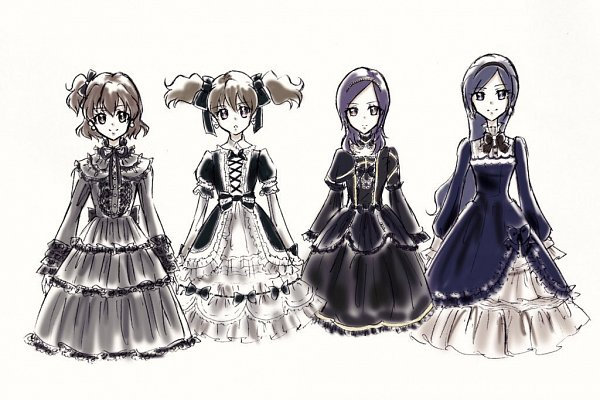 Tags: Anime, Fpminnie1, Fresh Precure!, Aono Miki, Momozono Love, Higashi Setsuna, Yamabuki Inori, Twitter, Fanart