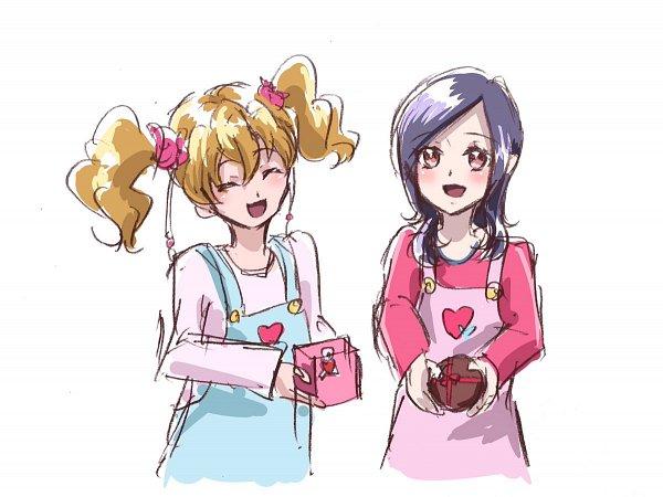 Tags: Anime, Fpminnie1, Fresh Precure!, Momozono Love, Higashi Setsuna, Fanart, Twitter