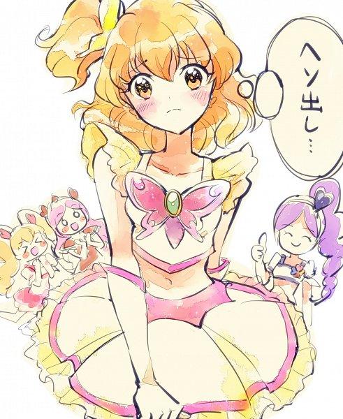Tags: Anime, Pixiv Id 15435592, Fresh Precure!, Cure Passion, Yamabuki Inori, Higashi Setsuna, Aono Miki, Cure Peach, Momozono Love, Cure Berry, Cure Pine, Cure Dream (Cosplay), Thumbs Up