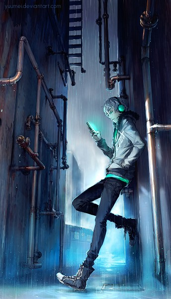 Tags: Anime, Wenqing Yan, Fisheye Placebo, Frey (Fisheye Placebo), Converse, Mobile Wallpaper, deviantART, Original