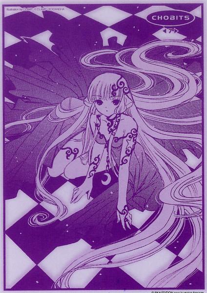 Tags: Anime, CLAMP, Chobits, Freya (Chobits), Manga Color, Official Art, Scan, Mobile Wallpaper