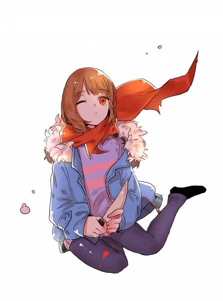 Tags: Anime, Pixiv Id 17362889, Undertale, Frisk, Parka, Striped Outerwear, Borrowed Clothes, Yokozuwari, Striped Sweater, Fanart, Fanart From Pixiv, PNG Conversion, Mobile Wallpaper