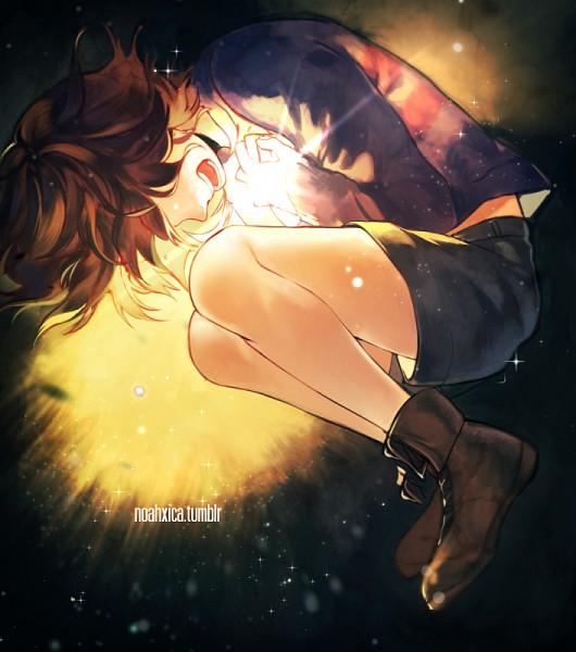 Tags: Anime, Noah (Pixiv2216636), Undertale, Frisk, Tumblr, PNG Conversion, Fanart