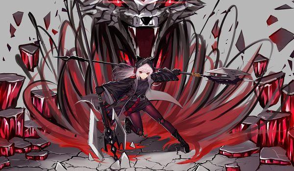 Tags: Anime, Pixiv Id 26716998, Arknights, Frostleaf, Fanart From Pixiv, Pixiv, Fanart
