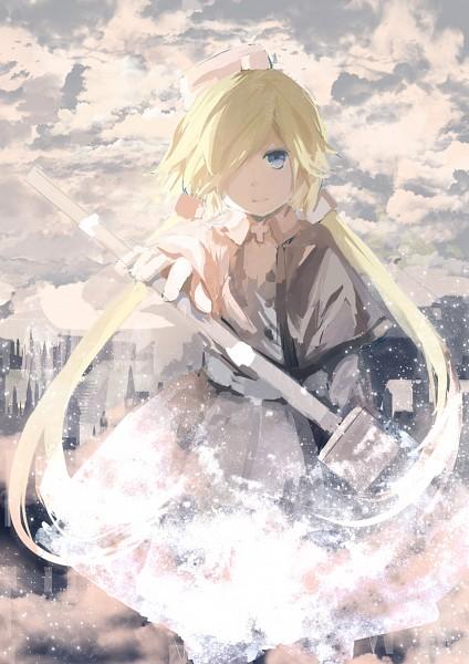 Tags: Anime, Pixiv Id 5564663, Gray Garden, Froze (Gray Garden), Gray, Gray Dress, Gray Outfit, Pixiv, Fanart From Pixiv, Fanart, Mobile Wallpaper