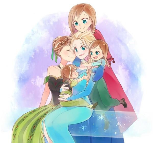 Tags: Anime, sou (Pixiv2760884), Frozen (Disney), Princess Anna of Arendelle, Elsa the Snow Queen, Disney