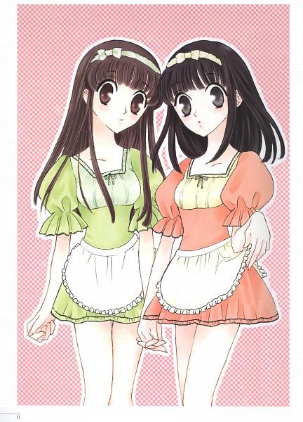 Tags: Anime, Fruits Basket, Sohma Kagura, Honda Tohru, Artist Request