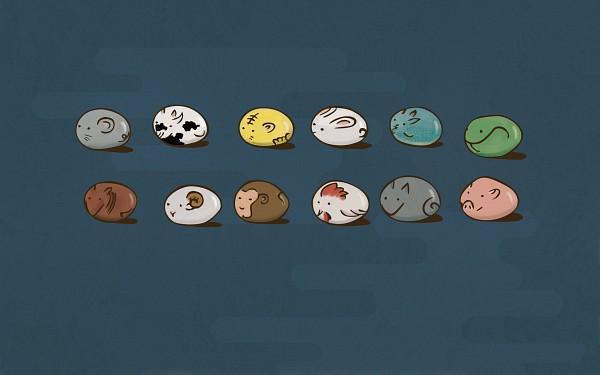 Tags: Anime, Fruits Basket, Snake (Chinese Zodiac), Rooster (Chinese Zodiac), Tiger (Chinese Zodiac), Monkey (Chinese Zodiac), Ox (Chinese Zodiac), Sheep (Chinese Zodiac), Rat (Chinese Zodiac), Pig (Chinese Zodiac), Horse (Chinese Zodiac), Dog (Chinese Zodiac), Zodiac