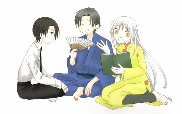 Tags: Anime, Fruits Basket, Sohma Shigure, Sohma Ayame, Sohma Hatori, Wallpaper, HD Wallpaper