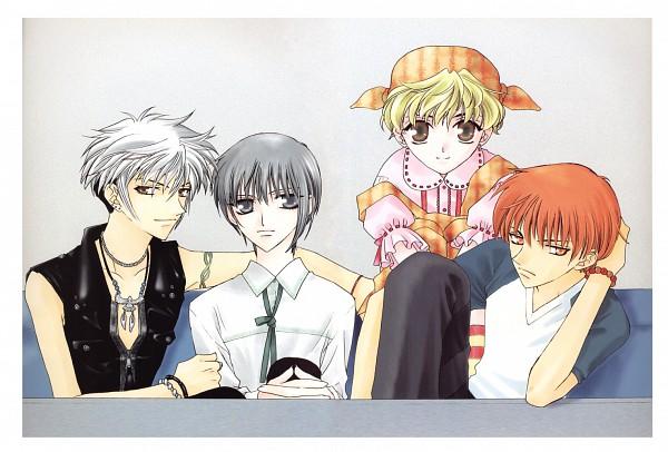 Tags: Anime, Takaya Natsuki, Fruits Basket, Sohma Kyo, Sohma Yuki, Sohma Momiji, Sohma Hatsuharu