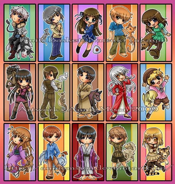 Tags: Anime, Annie Msson, Fruits Basket, Sohma Momiji, Sohma Ritsu, Sohma Kureno, Sohma Hatsuharu, Sohma Hiro, Sohma Kagura, Sohma Kyo, Sohma Kisa, Sohma Ayame, Sohma Yuki