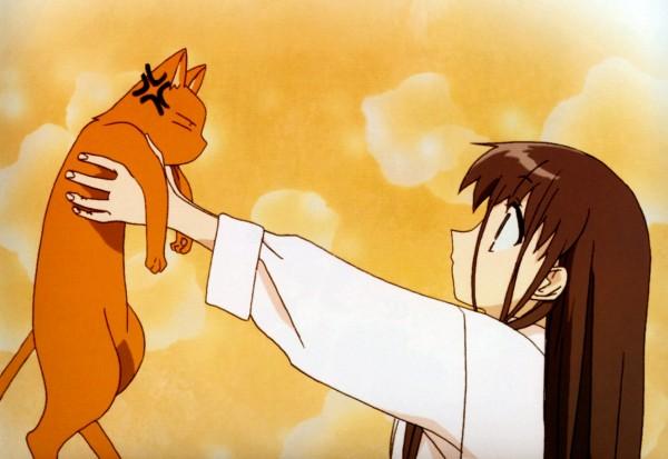 Tags: Anime, Fruits Basket, Honda Tohru, Sohma Kyo (cat), Sohma Kyo