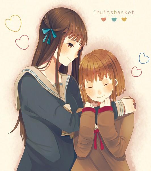 Tags: Anime, Bisco (Pixiv326203), Fruits Basket, Honda Tohru, Sohma Kisa