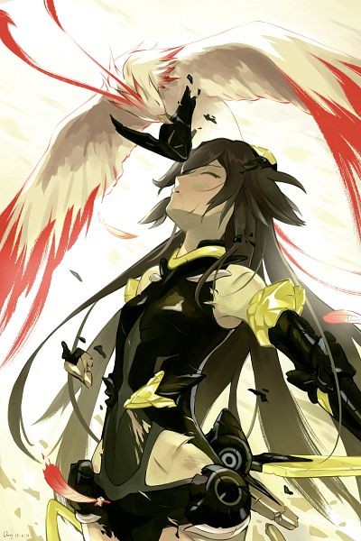 Tags: Anime, Pixiv Id 21167013, Houkai 3rd, Fu Hua, Phoenix