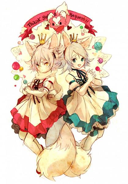 Fubuki Twins - Inazuma Eleven
