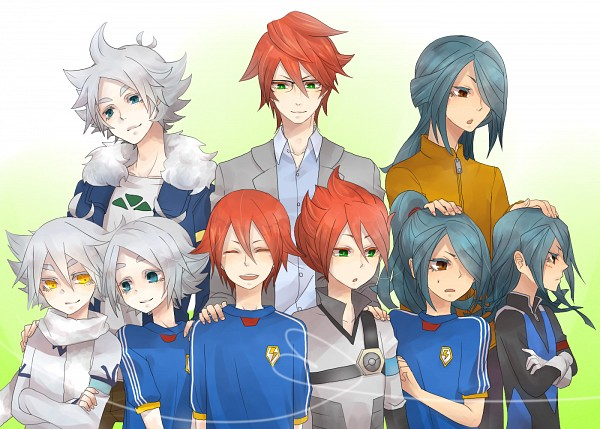 Tags: Anime, Level-5, Inazuma Eleven GO, Inazuma Eleven, Kiyama Hiroto, Fubuki Shirou, Kazemaru Ichirouta, Dark Emperors Uniform, Fubukiyamaru, Dark Emperors