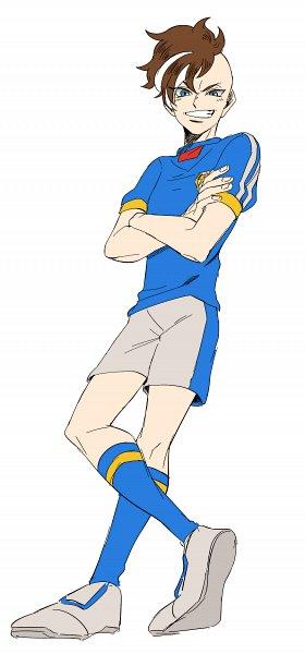 Tags: Anime, Pixiv Id 23777129, Inazuma Eleven, Fudou Akio, Crossed Legs (Standing), Pixiv, Fanart From Pixiv, Fanart, Inazuma Japan