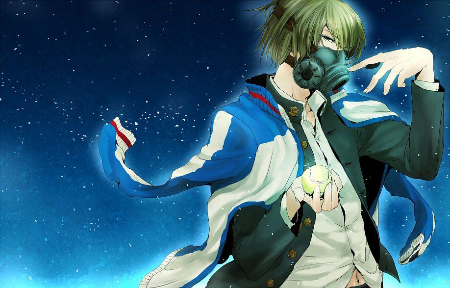 Tags: Anime, Pixiv Id 1248795, Tennis no Ouji-sama, Fuji Shuusuke, Seigaku Uniform, Tennis Ball, Fanart, Pixiv, Seigaku