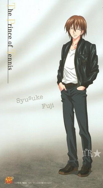 Tags: Anime, Tennis no Ouji-sama, Fuji Shuusuke, Mobile Wallpaper, Official Art, Seigaku
