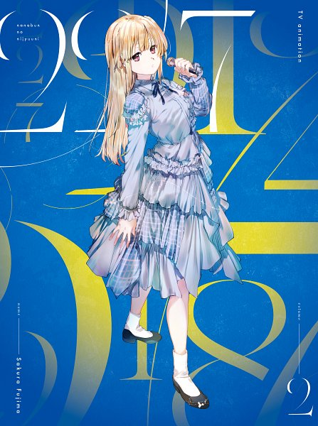 Tags: Anime, Majiro, A-1 Pictures, 22/7, Fujima Sakura, Twitter, Official Art, DVD (Source)