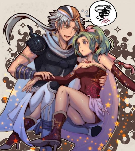 Tags: Anime, Fujimaru, Final Fantasy VI, Dissidia, Final Fantasy II, Firion, Tina Branford, Pixiv