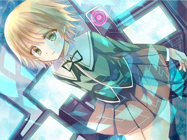 Tags: Anime, Pixiv Id 2681983, Danganronpa, Fujisaki Chihiro, 1000x750 Wallpaper, Wallpaper