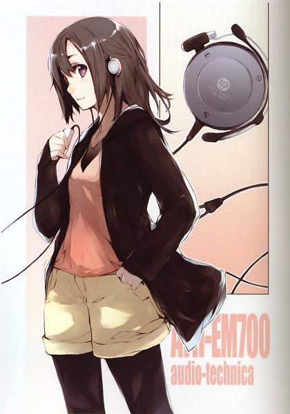 Tags: Anime, Fujishima (Raving Phantom), Shin Moeru Headphone Reader, Scan