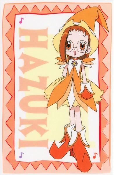 Tags: Anime, Umakoshi Yoshihiko, Ojamajo DoReMi, Fujiwara Hazuki, Rhythm Tap, Official Art, Scan
