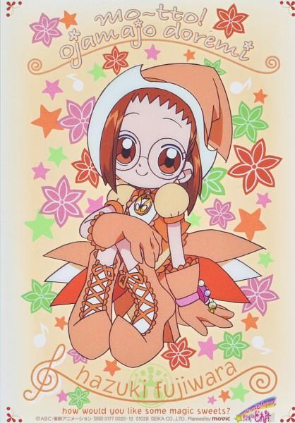 Tags: Anime, Umakoshi Yoshihiko, Ojamajo DoReMi, Fujiwara Hazuki, Parara Tap, Official Art, Scan