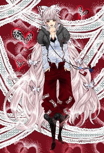 Tags: Anime, Pixiv Id 438144, Touhou, Fujiwara no Mokou, Fanart, Fanart From Pixiv, Pixiv