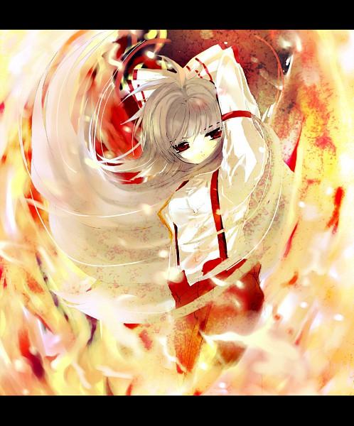 Tags: Anime, Shino (Eefy), Touhou, Fujiwara no Mokou