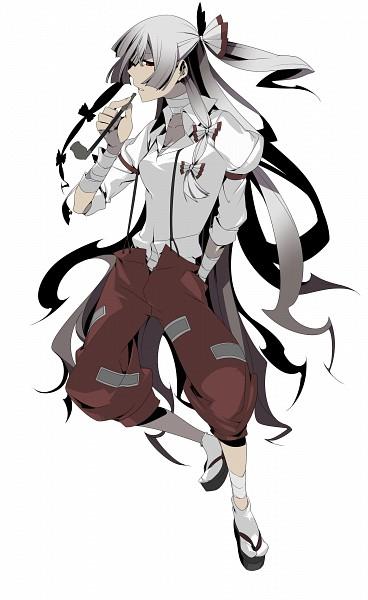 Tags: Anime, Cerberus-13, Touhou, Fujiwara no Mokou, PNG Conversion