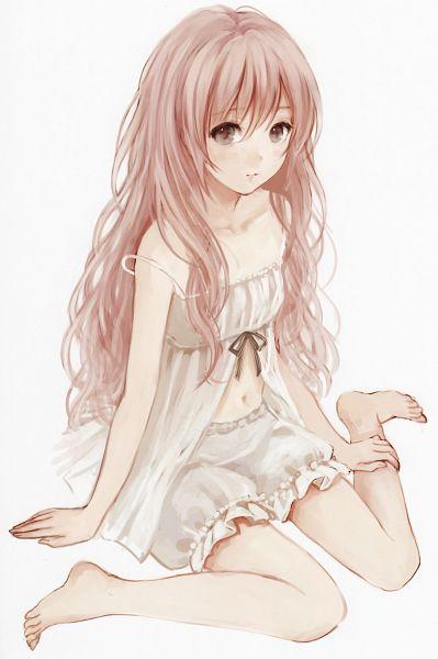Tags: Anime, Fukahire, Strap Slip, Original, Scan, Mobile Wallpaper