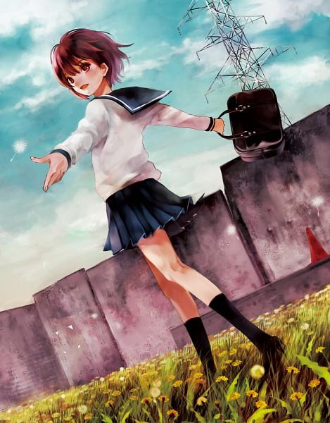 Tags: Anime, Fukahire, Stretch, Original, Pixiv