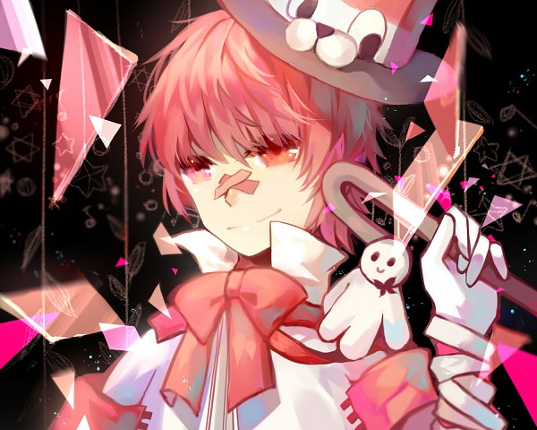 Tags: Anime, Pixiv Id 3909959, VOCALOID, Fukase (VOCALOID), Patch On The Nose, Fanart, Fanart From Pixiv, Pixiv