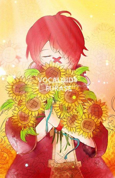 Tags: Anime, Pixiv Id 30970667, VOCALOID, Fukase (VOCALOID), X (Symbol), Fanart From Pixiv, Pixiv, Fanart