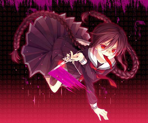 Tags: Anime, Hatori Piyoko, Danganronpa, Fukawa Touko, Pixiv, Fanart, Fanart From Pixiv